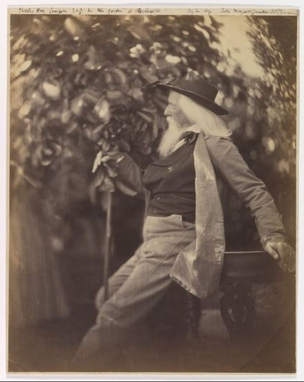 Julia Margaret Cameron - Charles Hay Cameron, Esq., in His Garden at Freshwater (1865-7)