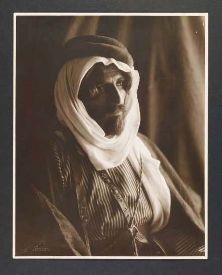 Bedouin Man - courtesy of GRI Digital Collections