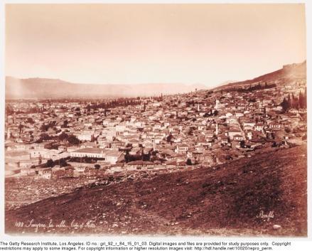 Smyrne, la ville (1875, Felix Bonfils)