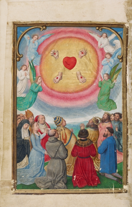 The Worship of the Five Wounds (Simon Bening)