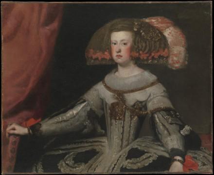 Mariana of Austria (1634–1696), Queen of Spain (Velazquez)
