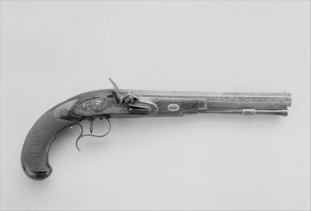 Pair of Flintlock Dueling Pistols (Simeon North)