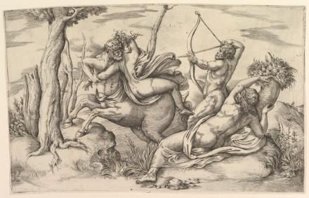 The Abduction of Dejanira (Battista Franco)